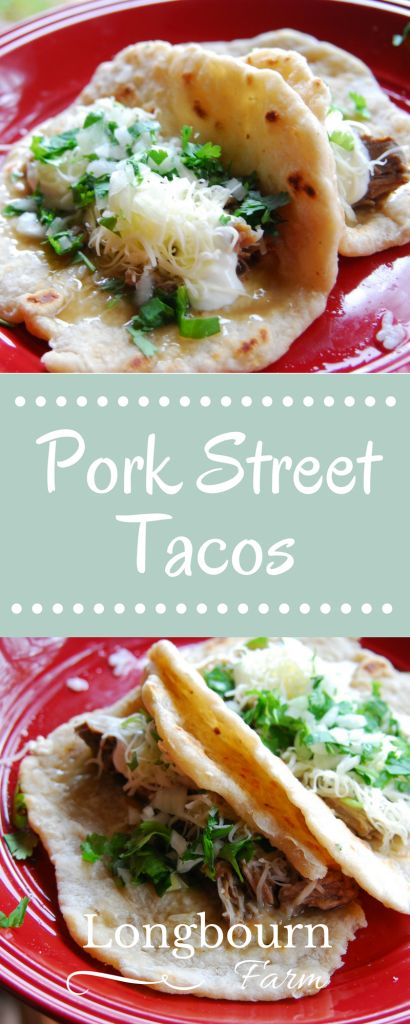 Pork street tacos are a breeze to put together, packed with flavor, and a fresh variation on traditional tacos. Try them today!
