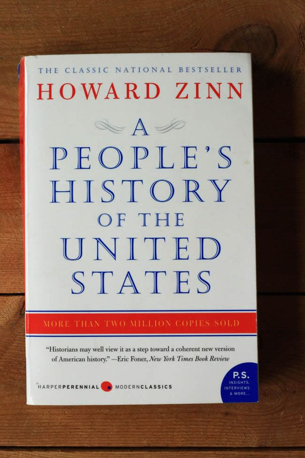 A People's History of the United States by Howard Zinn | 25 Books To Read Before You Die