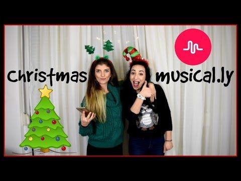 Χριστουγεννιάτικα musical.ly || fraoules22