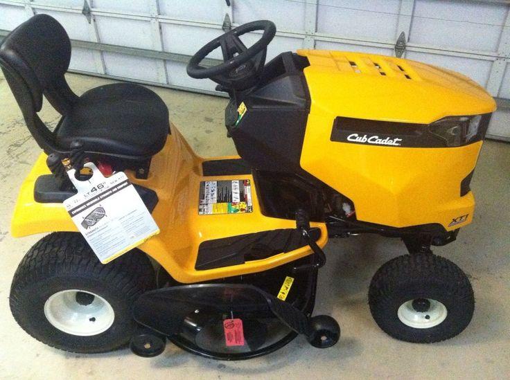 Cub Cadet LT46 XT1 Enduro Series 22hp V-Twin Riding Lawn Mower Tractor NEW in Riding Mowers | eBay