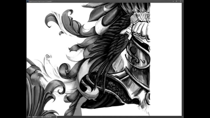 Coat of Arms drawing process