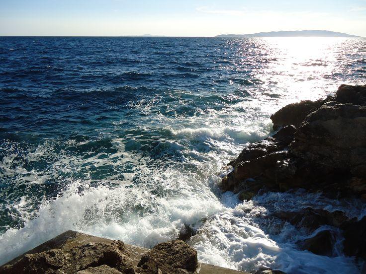 Croatia, Pelješac, Dingač, Potočine, sea, paradise