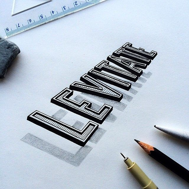 typography by @perspective_collective