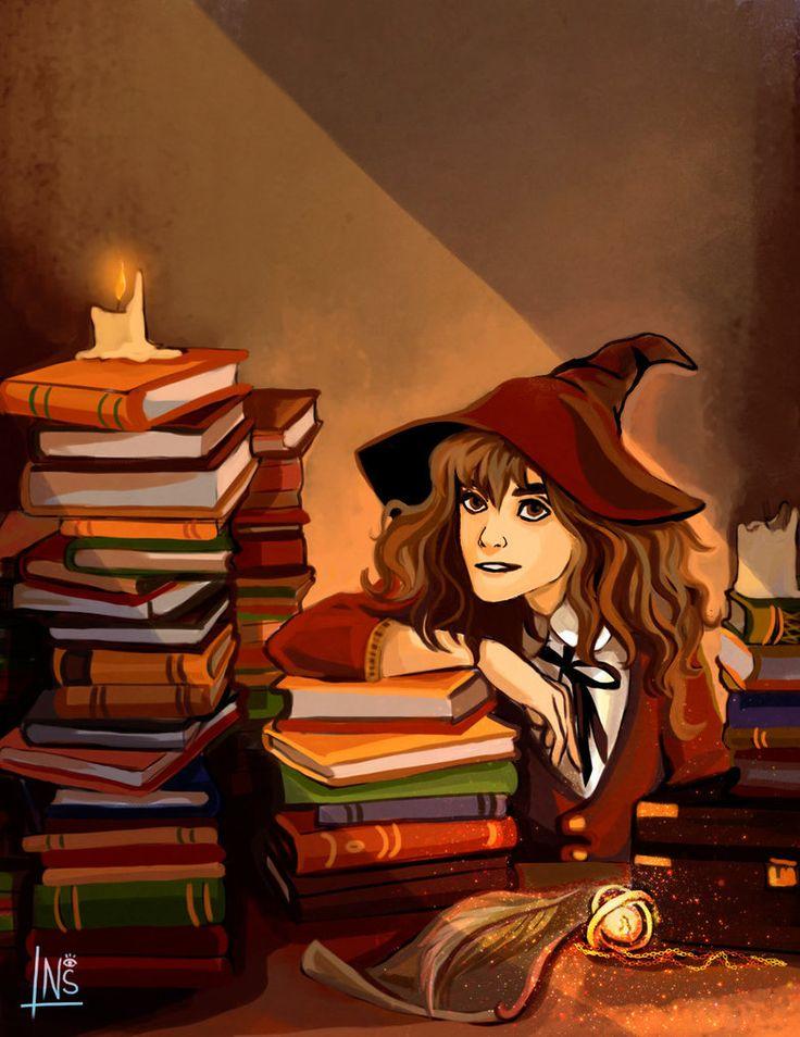 Hermione by nastjastark.deviantart.com on @DeviantArt