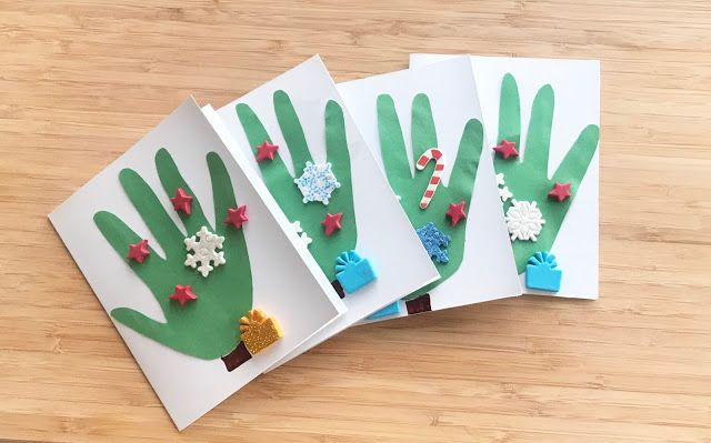 DIY Christmas Cards that Your Kid Can Help Make!