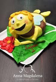 Výsledek obrázku pro dort včelka mája