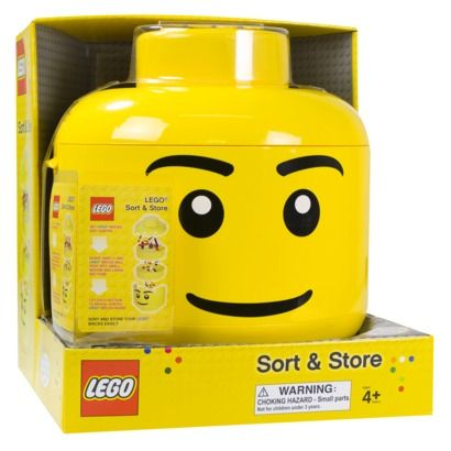 Lego Sort N' Store Head (Could have used this when I was a kid)
