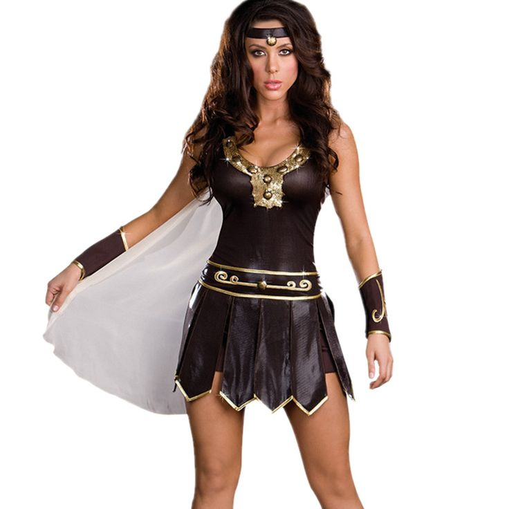 ==> [Free Shipping] Buy Best Halloween Carnival Ancient Roman Greece Greek Female Soldier Warrior Costumes Spartan Xena Gladiator Sexy Costume for Women Online with LOWEST Price   32827622945
