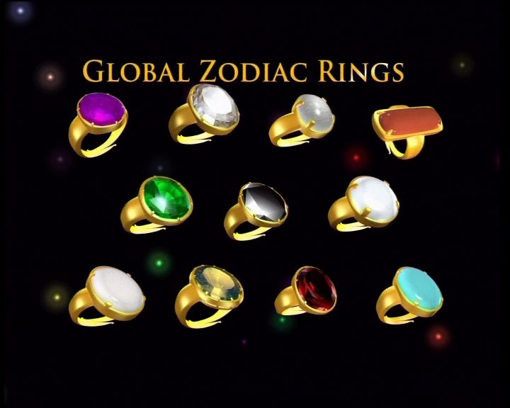 Zodiac Rings and Pendants