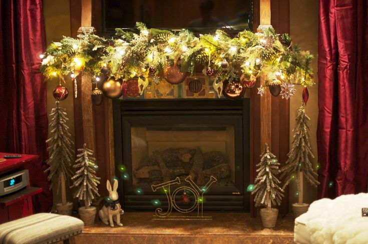 Image result for christmas indoor house decorations