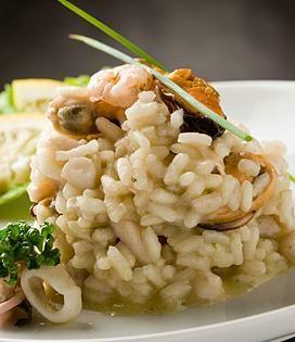 Recette Risotto aux fruits de mer (difficulté Facile) . Découvrez comment préparer votre Plat principal sur EnvieDeBienManger.fr