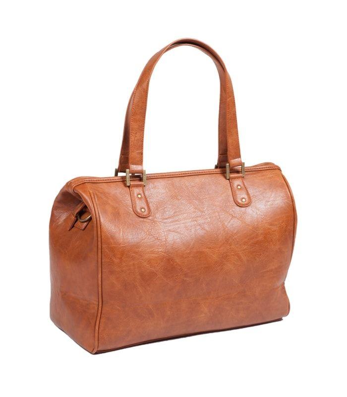 Easygrow Mama Bag SE Stelleveske Brun Stelleveske fra Easygrowmed mange lommer og flotte detaljer Stellevesken har et trendy design, oger laget av imitert skinn Den har 1 stort hovedrom