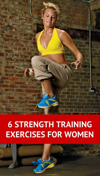 6 Best strength training moves for women   #health #fitness http://www.genetichealthplan.com/