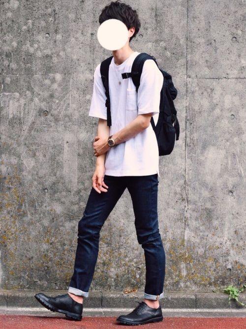 MONKEY TIMEのTシャツ・カットソー「<monkey time> TC/PONTI 1POC 5SL CN/Tシャツ」を使ったとっしーのコーディネートです。WEARはモデル・俳優・ショップスタッフなどの着こなしをチェックできるファッションコーディネートサイトです。