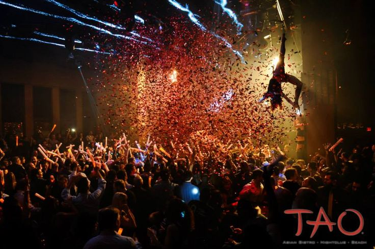 See what's… up… with Tao Nightclub. #getit? #vegas #clubs