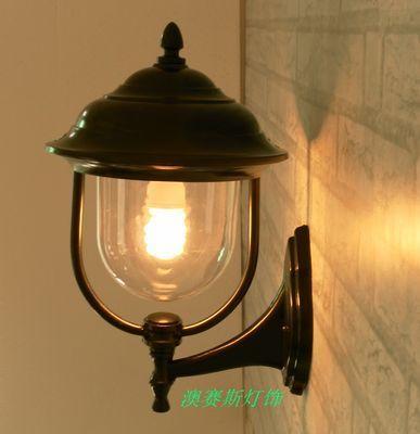 открытый лампы наруёная лампа водонепроницаемый светильник стены моды балкон лампы вход света проход света