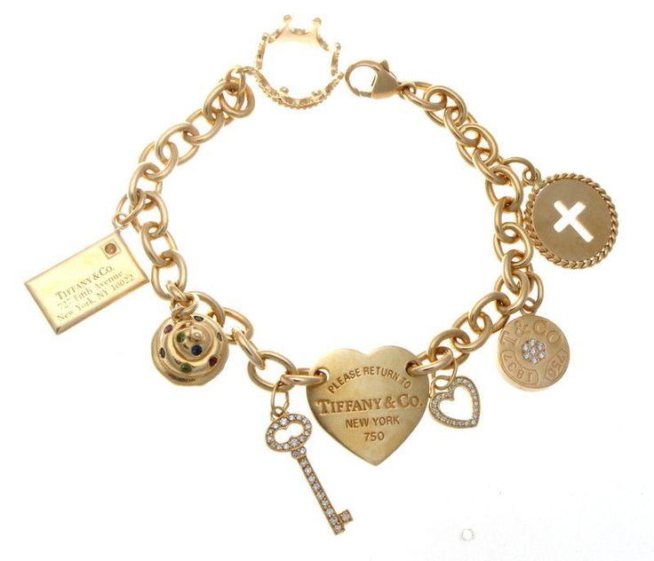 Las 25 mejores ideas sobre pulseras de charms de tiffany for Pandora jewelry amarillo tx