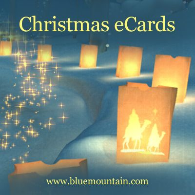 Wish a joyful Christmas to everyone on your list! Ring in the merry by choosing from a wide array of Christmas greetings from Blue Mountain.