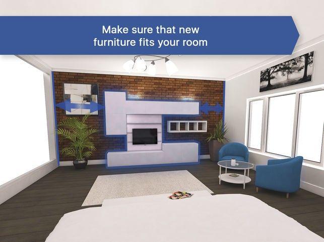 Room Planner Design Home 3d On The App Store Living Room Planner