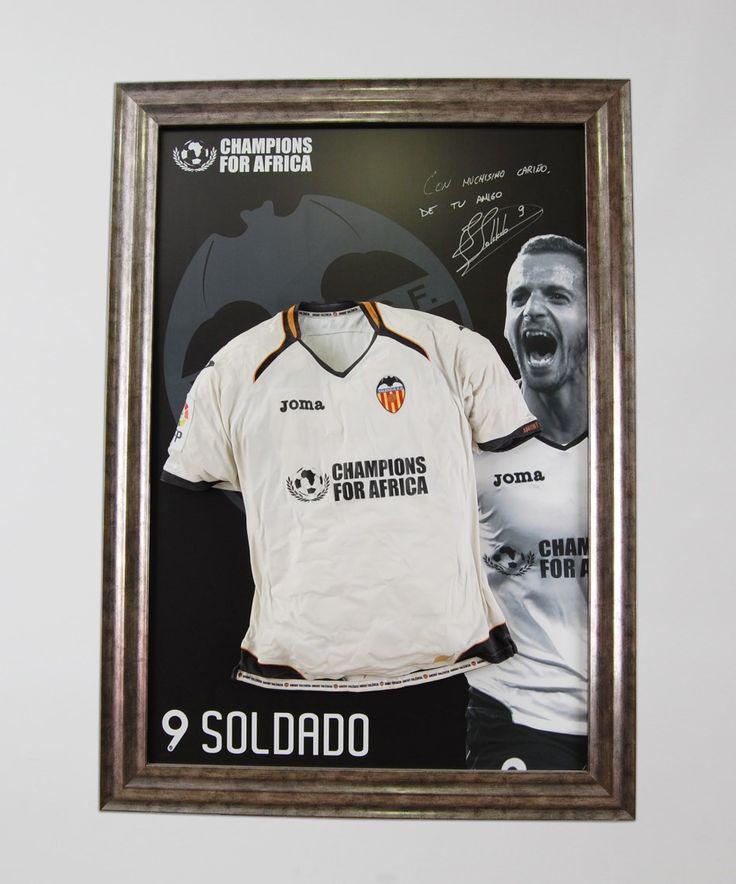 Camiseta de Roberto Soldado | Irrepetibles