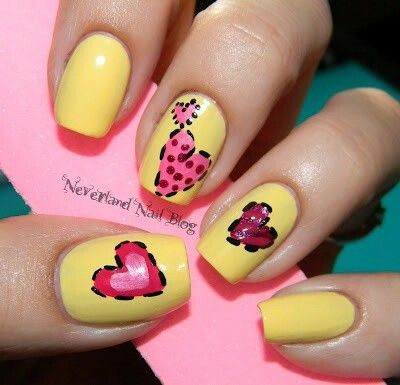 622 best valentines images on Pinterest | Valentine nails, Nail ...