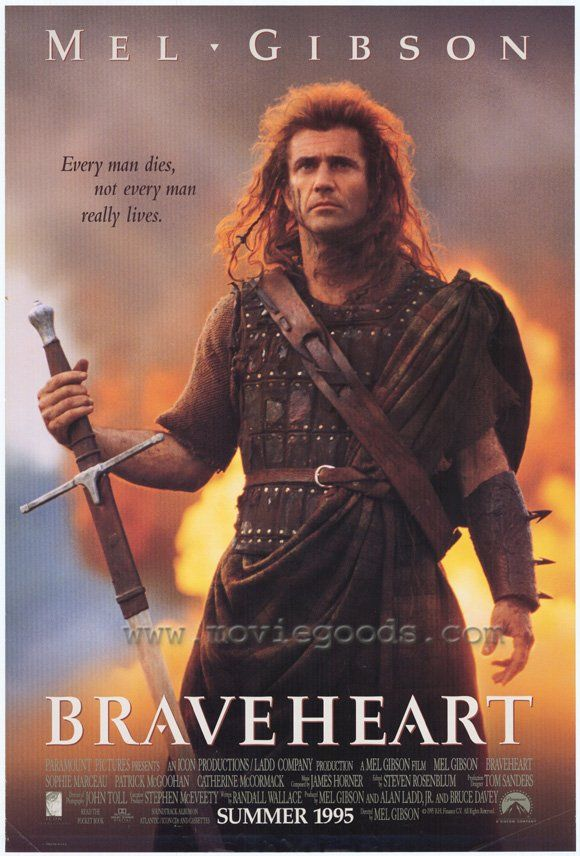 """""""I shall tell you of William Wallace. Historians from England will say I am a liar, but history is written by those who have hanged heroes."""" - Braveheart, 1995."""
