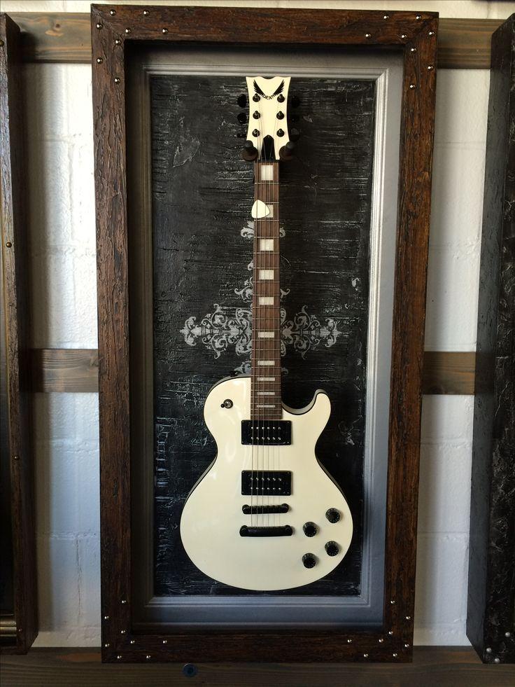 Guitar display case By GFrames.com