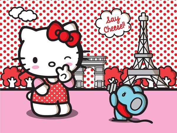 Mejores 18 imgenes de Fotomurales Hello Kitty en Pinterest