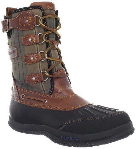 Sebago Wells Riverbank Brown Mens Waterproof Snow Boots B17200 #Sebago #AnkleBoots