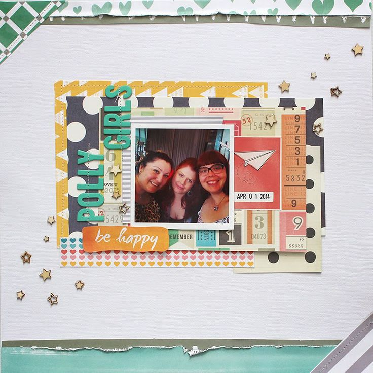 Polly! Scrapbooking & Pocket Scrapbooking Kits: Paris and Polly Girls - by Manda (and a video too!)