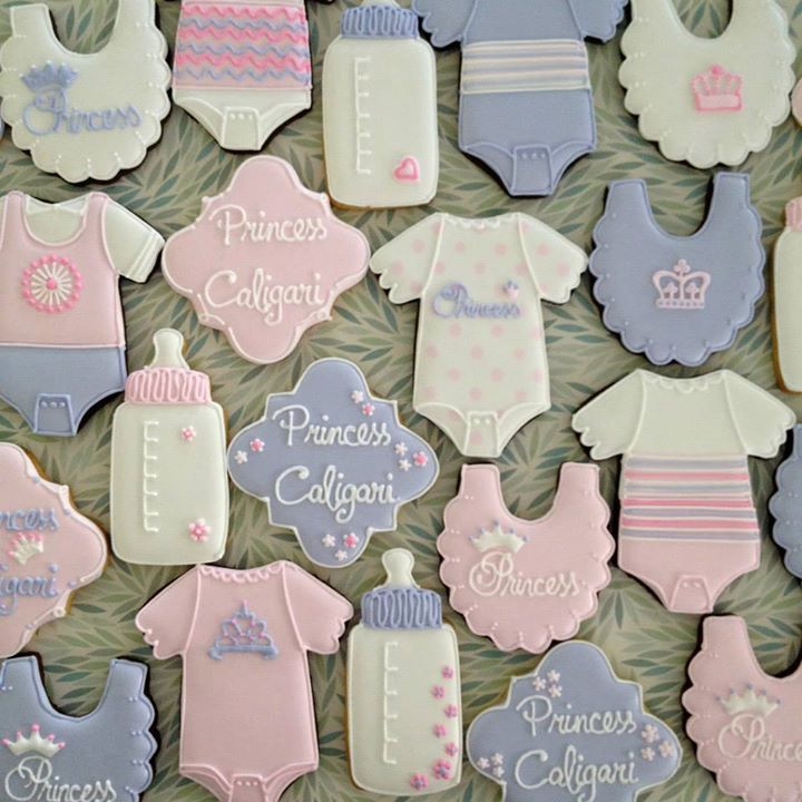Princess baby shower cookies | Shop. Rent. Consign. Gently used designer maternity brands you love at up to 90% off retail! MotherhoodCloset.com Maternity Consignment online superstore.