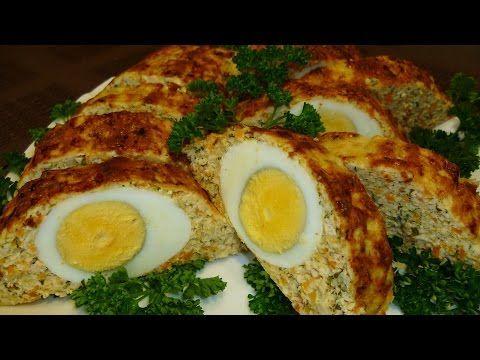 Куриный рулет с яйцом рецепт с фото