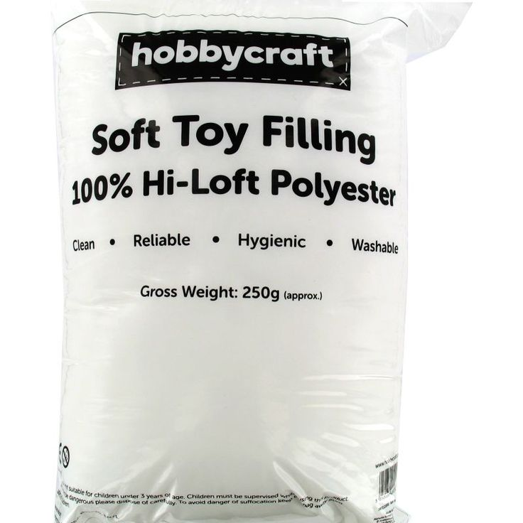 Polyester Soft Toy Filling 250g