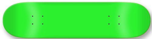 Moose Blank Skateboard Deck, Neon Green, 7.75-Inch by Moose. $19.77