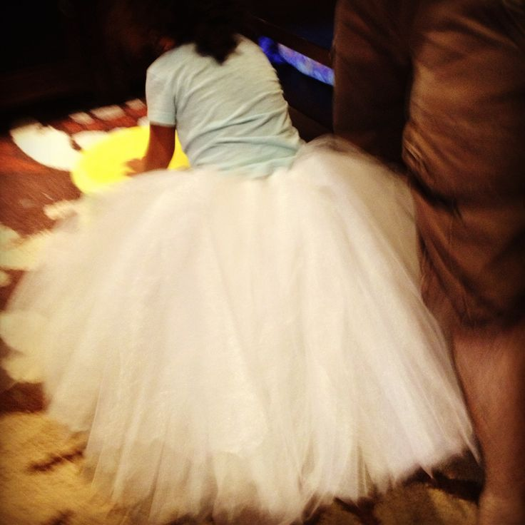 No Sew long tutu skirt
