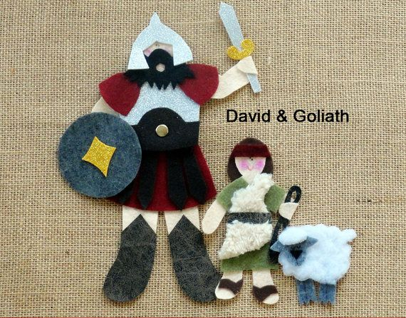 5 BIBLE Stories for Flannel/Felt Board .pdf by LindyJDesign