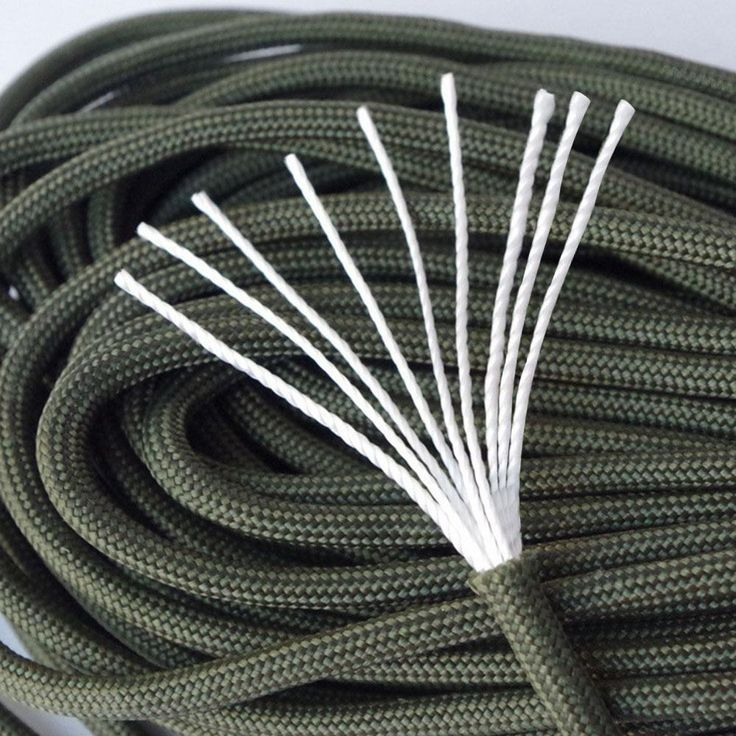 [Visit to Buy] 100 feet/ 31 meter 9 strands Paracord 550 IB Rope Cuerda Escalada Mil Spec Type  Outdoor Camping Survival tent Equipment #Advertisement