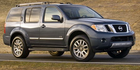 2008 Nissan Pathfinder. Lease was up on the Infiniti. Went for this fully loaded Pathfinder. Video, voice-controlled everything! Really awesome vehicle. Also ended up divorced so the practicality came in handy.