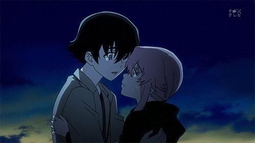 gif kiss love gif mirai nikki Gasai Yuno yuno The future diary amano yukiteru anime kiss anime love yukki amano yuno gasai gif amano yukiteru gif anime love gif