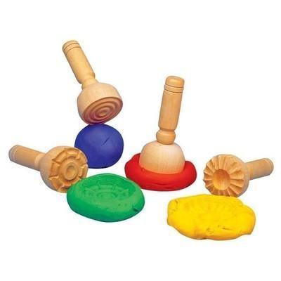 Wooden Dough Stampers