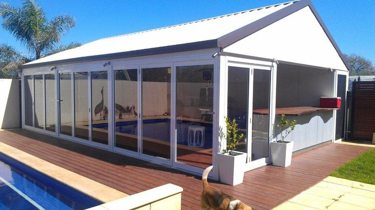 What beats a relaxing swim in summer? A relaxing swim followed by a cocktail in your very own SolarSpan bar oasis...