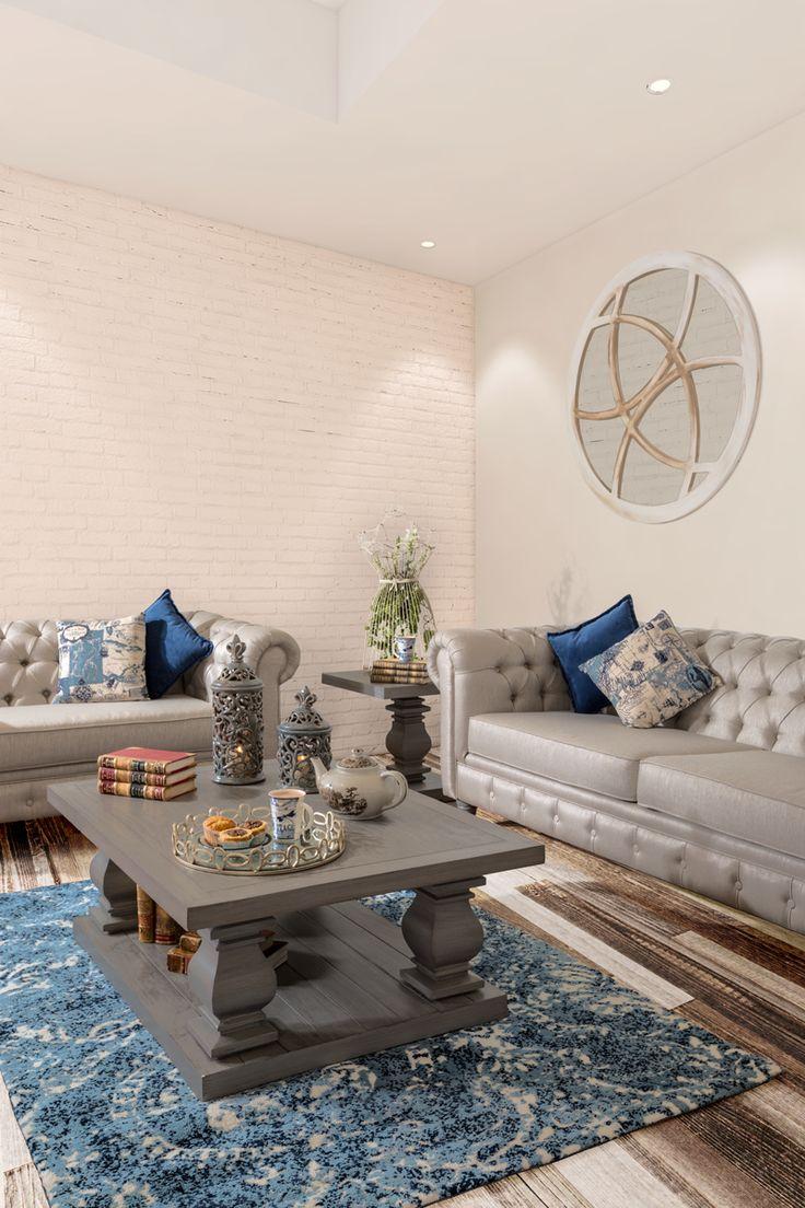 #Sala #Vintage (Love seat 53136 / Sofá Royal Industrial / Mesa lateral 51995 / Mesa de centro 51994) #HomeDecor #Muebles #coleccion2015Placencia