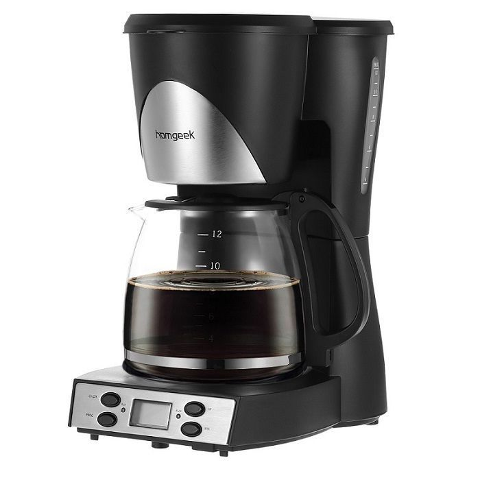 Coffee Maker Machine 1.5L With Measuring Scoop Carafe Programmable #homgeek