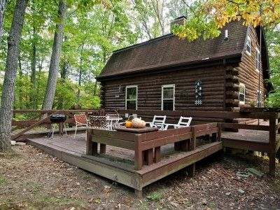 Quilters Vacation Log Cabin In Southern Brown County Indiana