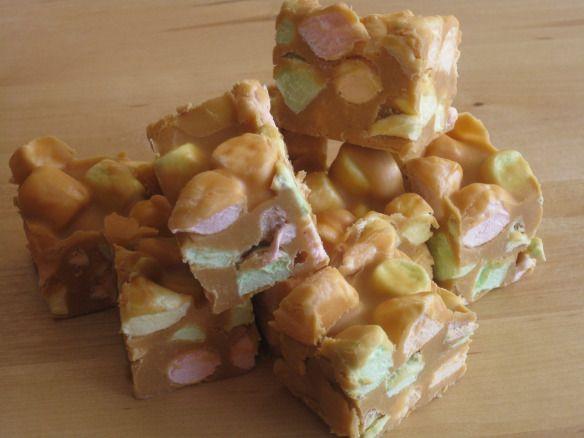No-Bake Peanut Butter Marshmallow Squares | Kara's Favourite Recipes