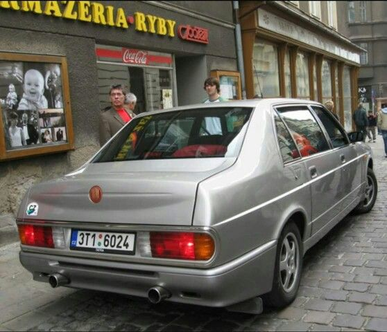 Tatra T700 in Prague.