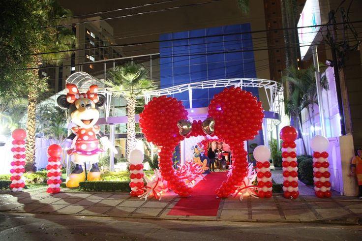 Festa Minnie  Minnie Mouse Party on Pinterest  Minnie mouse, Minnie