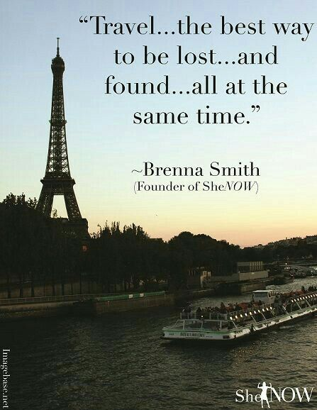 Travel to be lost and found