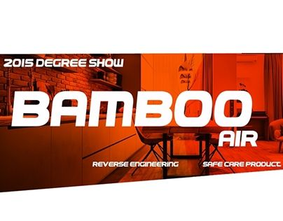 """Check out new work on my @Behance portfolio: """"Bamboo Air 