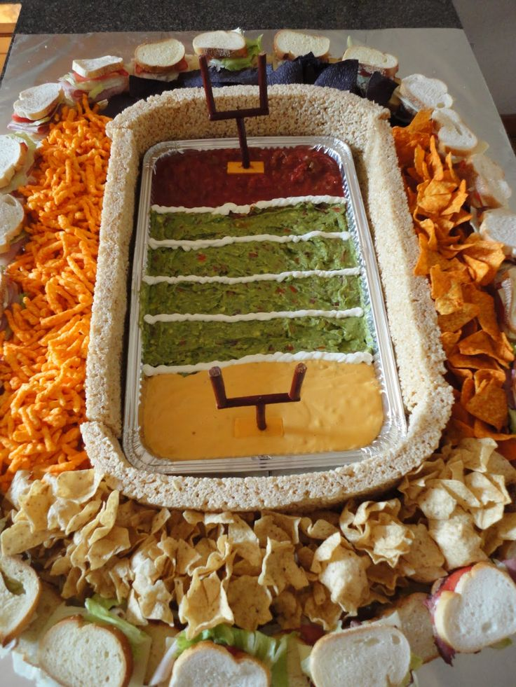 The Snackadium! Did you notice the walls are made of Ricy Krispy Treats?! Check out this page to see how it was made.